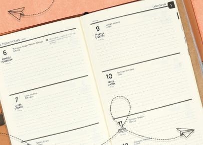 Týdenní plánování s Luxusními diáři