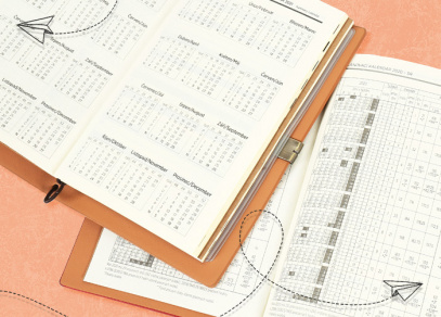 Přehledný měsíční kalendář a plánovací kalendář