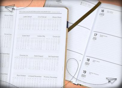 Týdenní plánování a přehledný měsíční kalendář