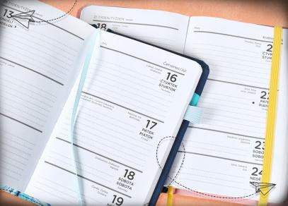 Týdenní plánování se čtrnácti diáři od ALBI
