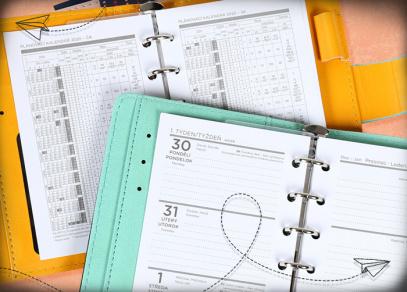 Týdenní plánování a nezbytný plánovací kalendář