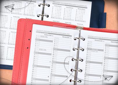 Měsíční plánování a přehledný kalendář