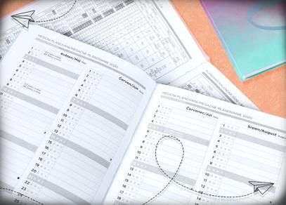 Měsíční plánování a plánovací kalendář