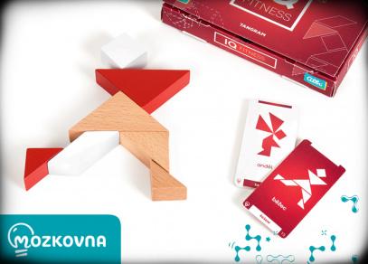 IQ Fitness Tangram - hra z řady Mozkovna od Albi