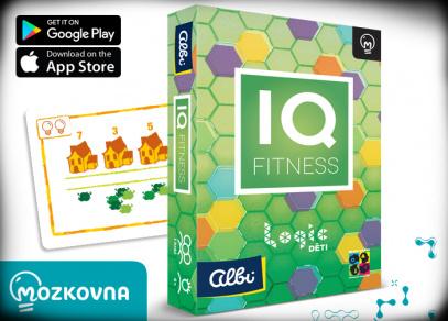 IQ Fitness - Logic pro děti - Mozkovna od Albi