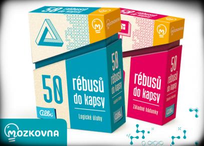 50 rébusů do kapsy - Mozkovna od Albi