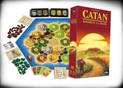 CATAN Big box - legendární hra od Albi