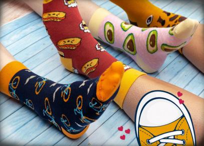 Kdo z vás ještě nemá bláznivé ponožky?