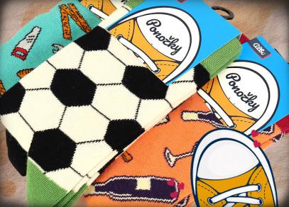 Barevné ponožky od ALBI
