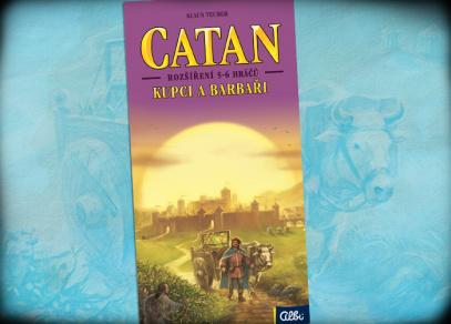 Catan - rozšíření Kupci a barbaři pro 5-6 hráčů