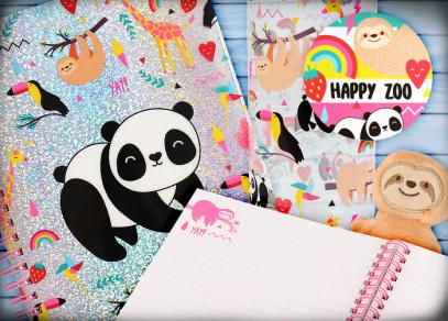 Lenchod, panda, tukan a další z kolekce Happy Zoo