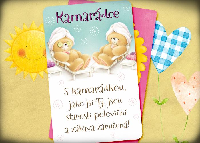 přání k svátku pro kamarádku Obrázky pro kamarádky   ♥ The best for girls ♥   Hryprodivky.cz přání k svátku pro kamarádku