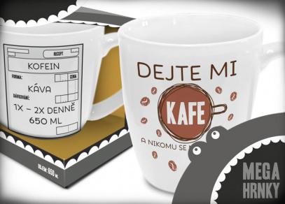 MEGAhrnky na pořádnou dávku kávy...
