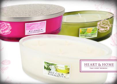 Heart & Home svíčky elipsa