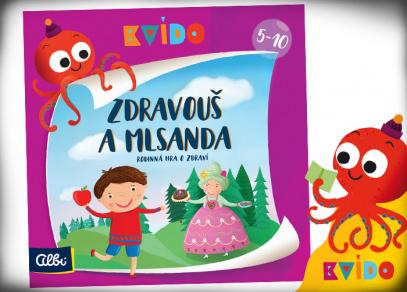 Kvído - Zdravouš a Mlsanda - hra od Albi