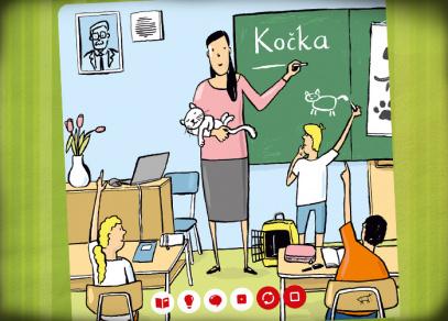 Minikniha Učitel - Kouzelné čtení od Albi
