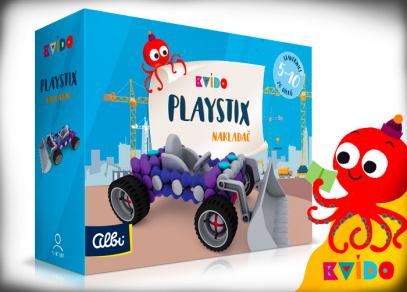 Stavebnice Kvído Playstix - Nakladač