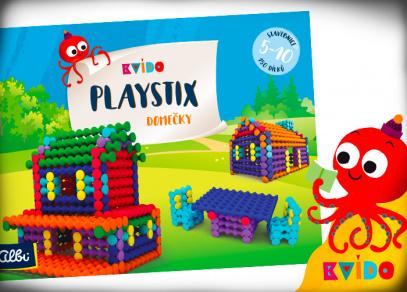 Stavebnice Playstix Domečky od Kvída