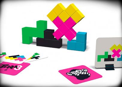 Team 3 - růžová edice - párty hra od Albi