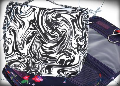 Závěsná kosmetická taška