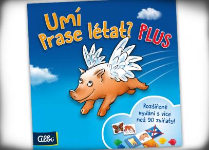 Umí prase létat PLUS - dětská hra od Albi