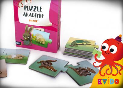 Kvído - Puzzle akademie od Albi