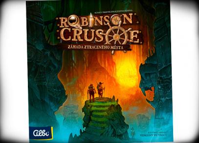 Robinson Crusoe - rozšíření strategické hry