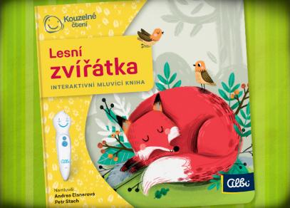 Lesní zvířátka - Kouzelné čtení