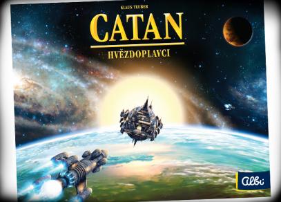 Catan Hvězdoplavci - hra od Albi