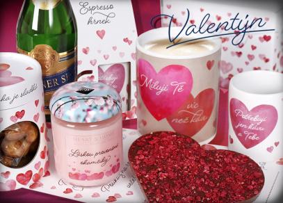 Valentýnská nadílka od Albi