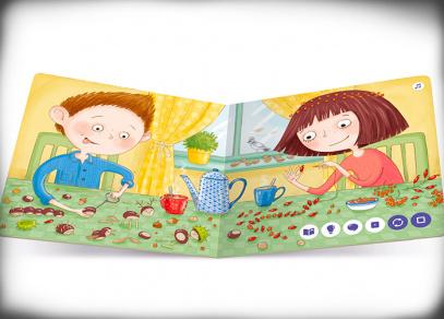 Minikniha Podzim - Kouzelné čtení