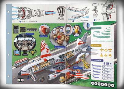 Kouzelné dvoulisty - Letadla a letectví