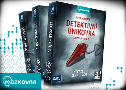 Detektivní únikovka od Albi
