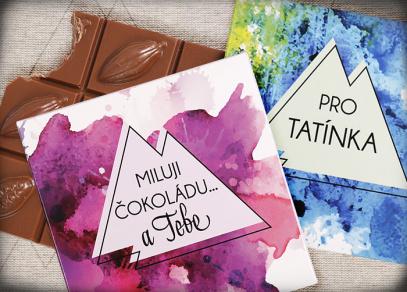 Čokolády se vzkazem od Albi