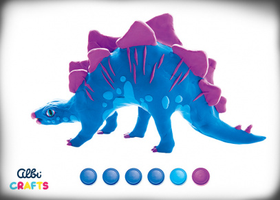 Albi Crafts - Dinosauři - Stegosaurus
