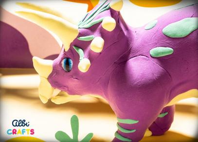 Albi Crafts - Dinosauři - Triceratops