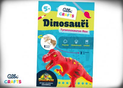 Albi Crafts - Dinosauři - Tyrannosaurus Rex