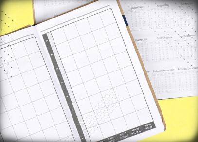 Prostorný školní rozvrh hodin a přehledný kalendář na rok 2021