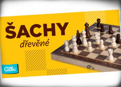 Dřevěné šachy od Albi