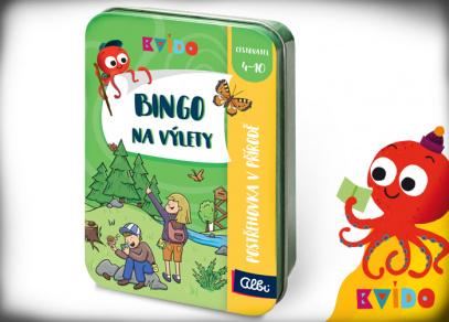 Bingo na výlety - Kvído Cestovatel