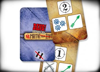 BANG! Kostková hra - Nemrtví nebo živí