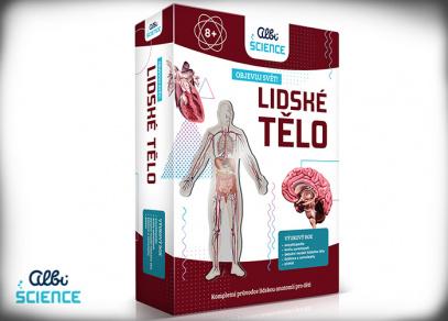 Albi Science - Lidské tělo - Objevuj svět!