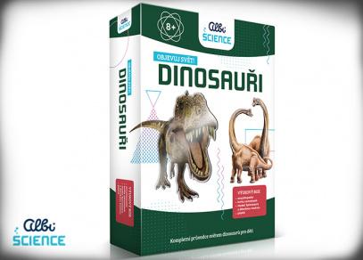 Albi Science - Dinosauři - Objevuj svět!