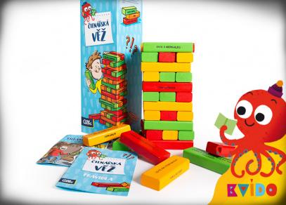 Kvído - Čtenářská věž