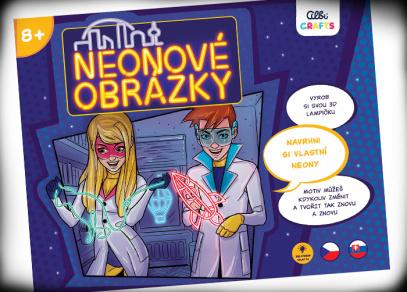 Neonové obrázky - Albi Crafts