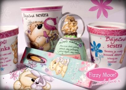 Obdarujte ženu svého života, sestru, maminku, tetu nebo babičku dárkem s Fizzy Moonem