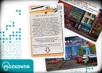 Detektivky do kapsy - Mozkovna od Albi