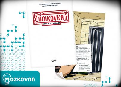 Kniha Únikovka - Útěk z Alcatrazu - Mozkovna