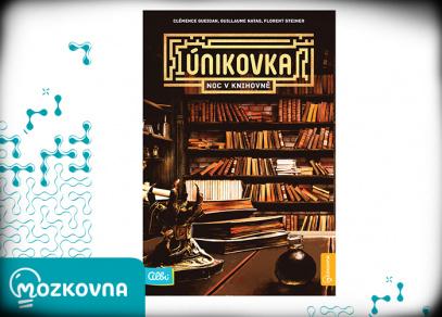 Noc v knihovně - únikovka z edice Mozkovna