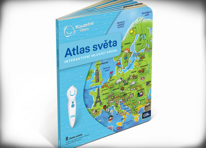 Atlas světa - Kouzelné čtení